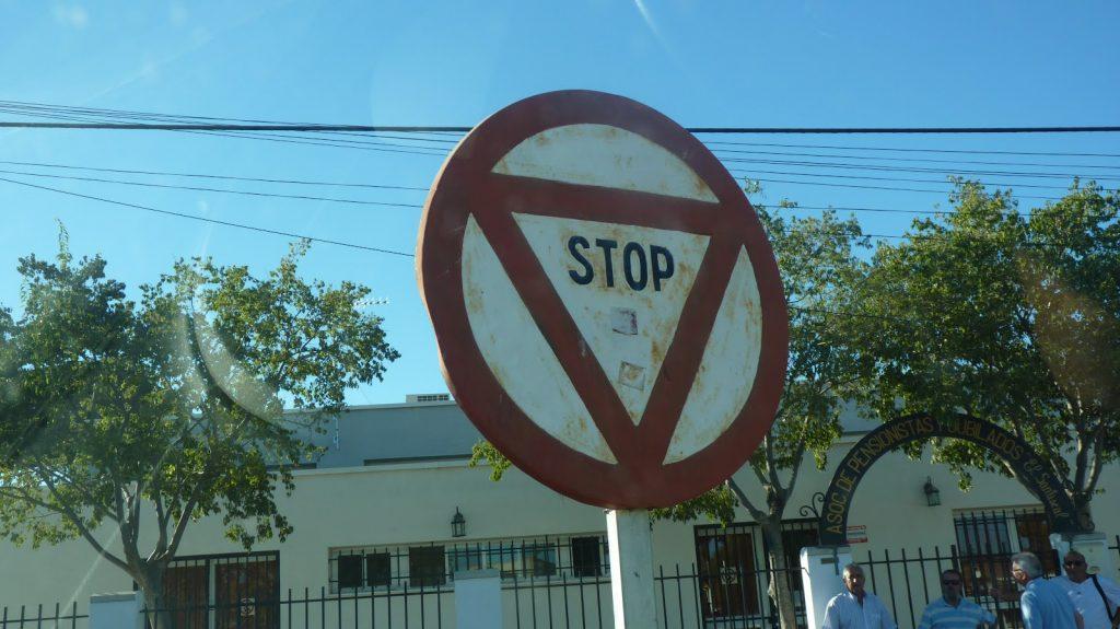 Stop antiguo