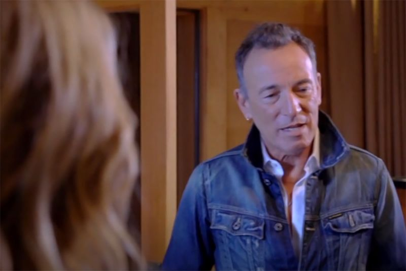 Bruce Springsteen en Broken Poet